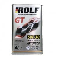 Масло моторное ROLF GT 5w30 SN/CF синтетика 4л