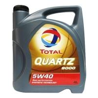 TOTAL QUARTZ 9000 5W-40, 4л