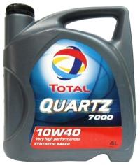 TOTAL QUARTZ 7000 10W-40, 4л