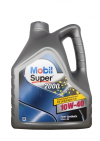 "MOBIL Super 2000 X1 10W-40"", 4л"