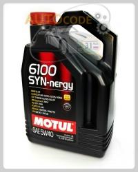 Motul 6100 syn-NERGY 5w-30 4л